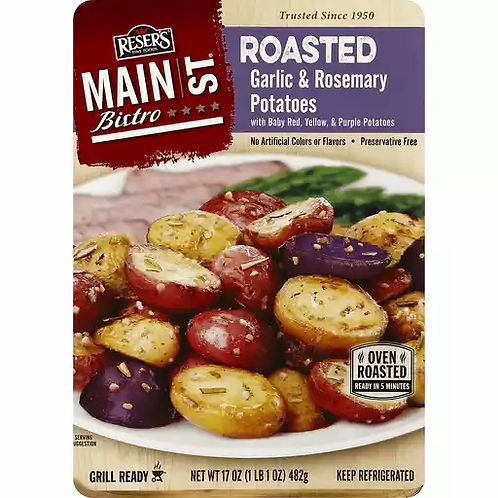 Main St Bistro - Red Skins w/ Rosemary Garlic