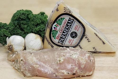 Garlic Parmesan Breasts ( per lb. )