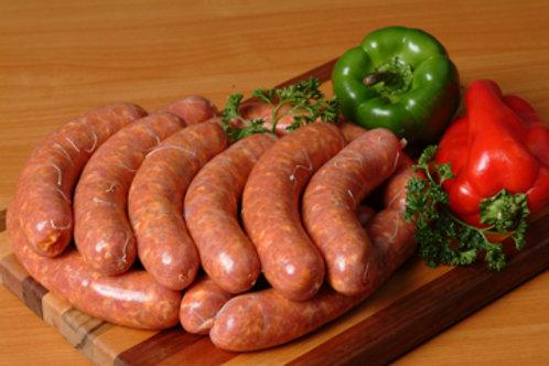 Hot Italian Sausage ( per lb. )