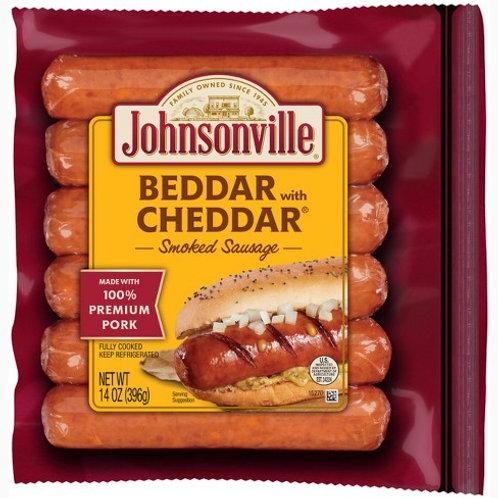 Johnsonville Bratwurst - Better Cheddar