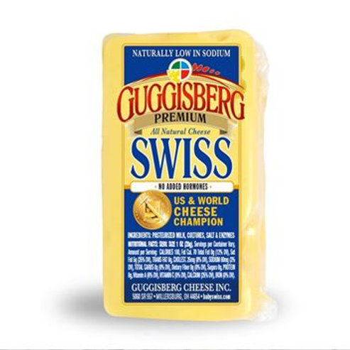 Guggisberg Swiss Cheese ( per lb. )