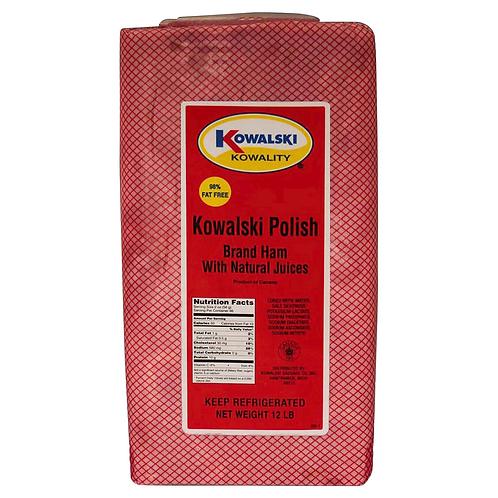 Kowalski Polish Ham ( per lb. )