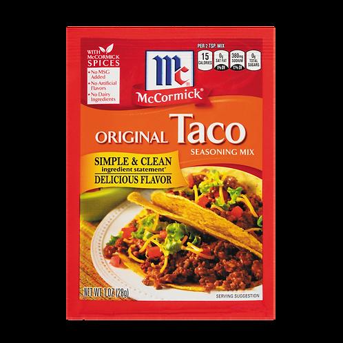McCormick Original Taco Packet