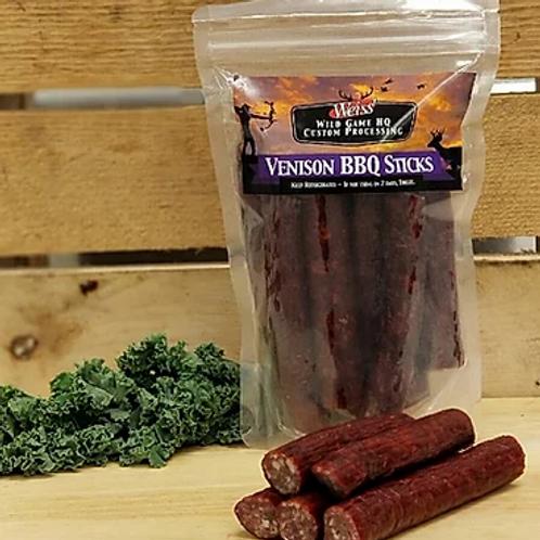 Venison Honey BBQ Sticks
