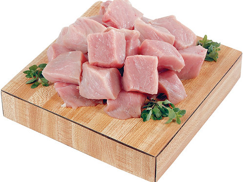 Pork Stew Meat ( per lb. )