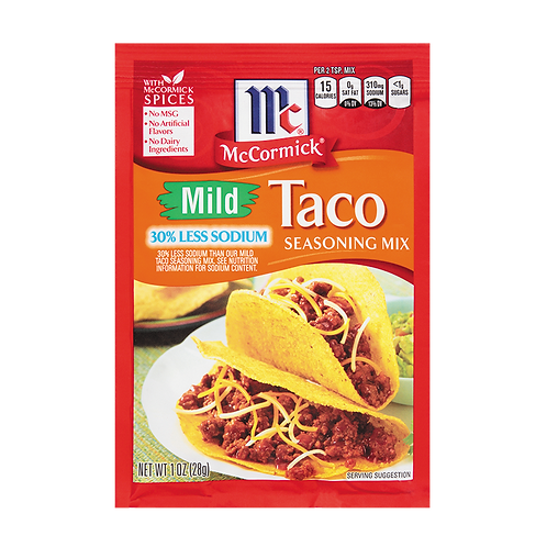 McCormick Mild Taco Packet
