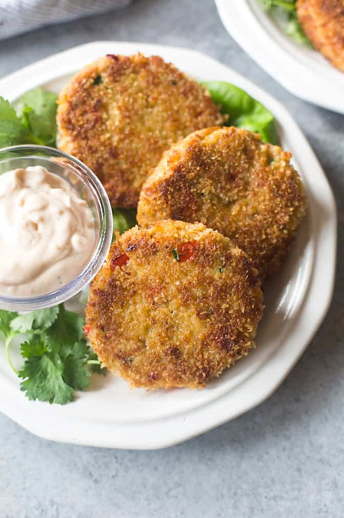 Crab Cakes ( Sold by pc )