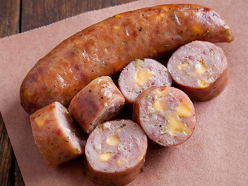 Cheddar Bratwurst ( per lb. )