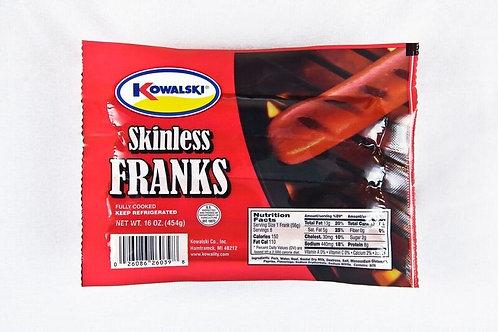 Kowalski Skinless Hot Dogs - 8 pk