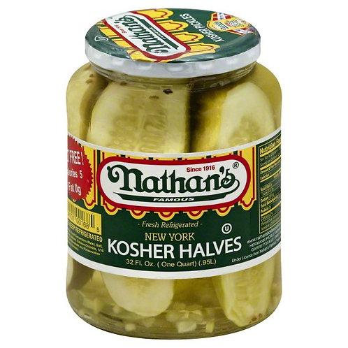 Nathan's Kosher Dill Halves