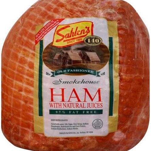 Sahlen's Smokehouse Ham ( per lb. )