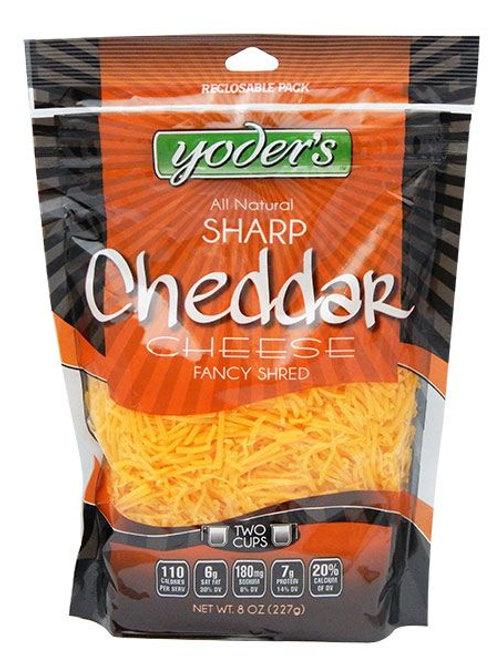 Shredded Cheese - Sharp