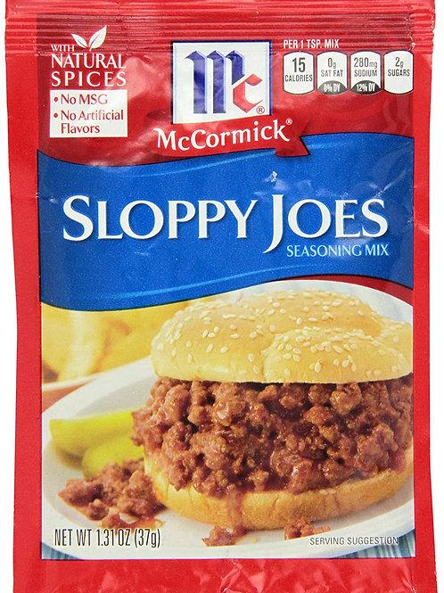 McCormick Sloppy Joe Packet