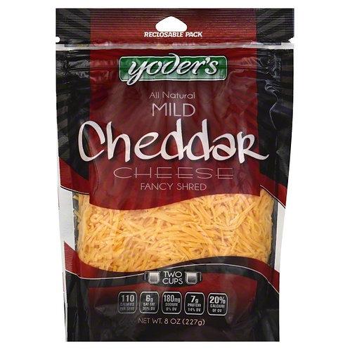 Shredded Cheese - Mild Cheddar