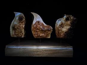 Spring - Sculpture by Steven George Clark