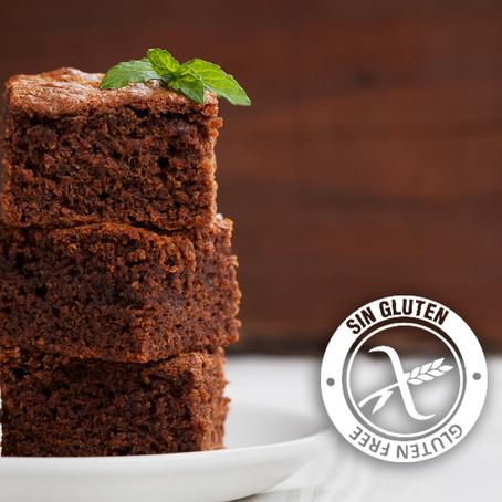 Muffins de harina de garbanzo y chocolate