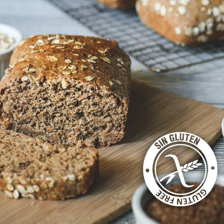 Pan de harina de garbanzo y avena integral