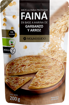 Doypack Harina de Garbanzo y Arroz 2021.