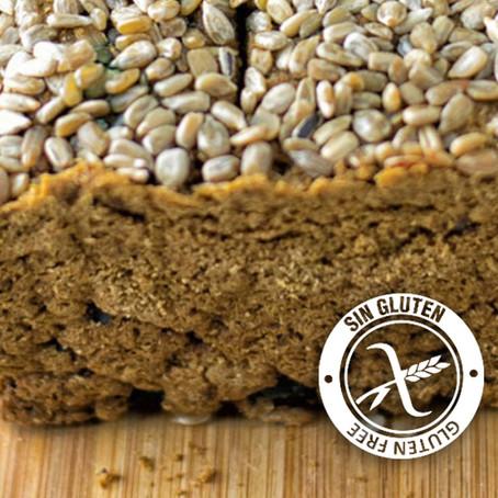 Pan de harina de garbanzo y aceitunas