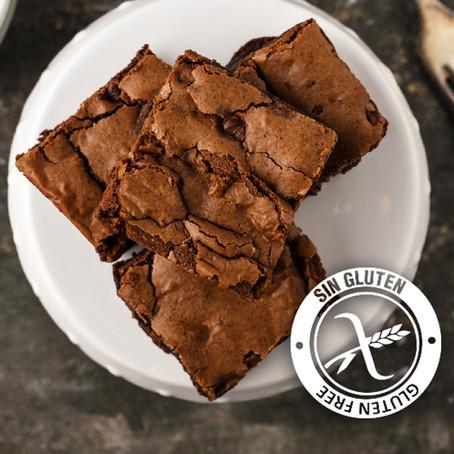 Brownies de harina de garbanzo