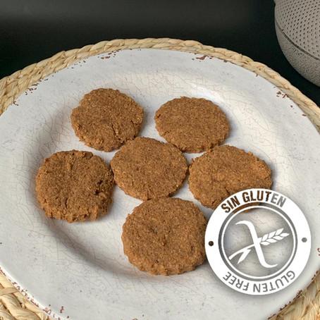 Cookies de harina de garbanzo y coco