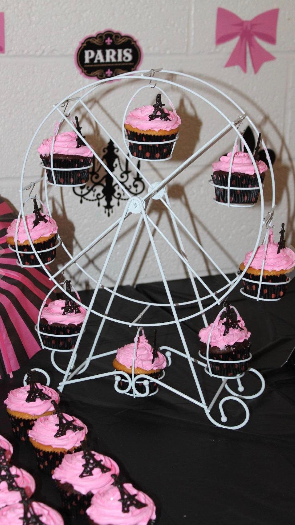 Cupcake ferris wheel stand
