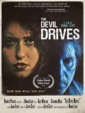 THe Devil Drives poster fake flesh fest.