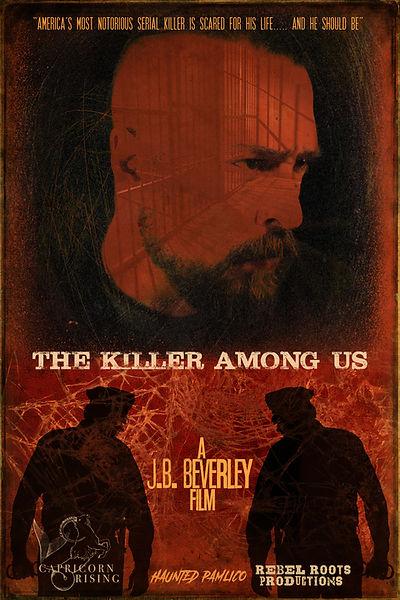 The Killer Among Us poster 1 - cap logo