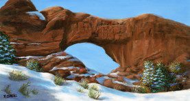 North Arch (First Snow)