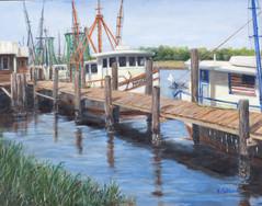 Sunday at Shem Creek (Shrimp Boats)