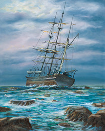 """Beached Whaler """"The Wanderer"""""""