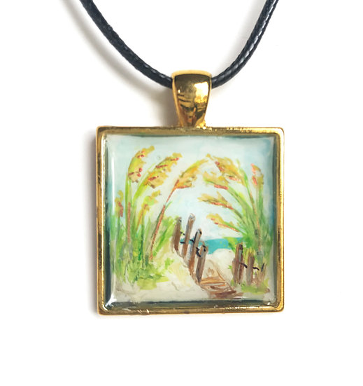 Art to Wear Pendant