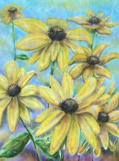 Summer Golds: Coneflowers