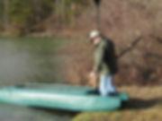 Wavewalk motor fishing kayak