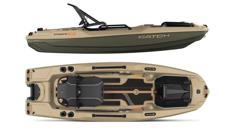 """Is the Pelican Catch PWR 100 the Ultimate Big Water Fishing """"Kayak""""?"""