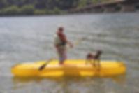 Wavewalk W700 motor kayak