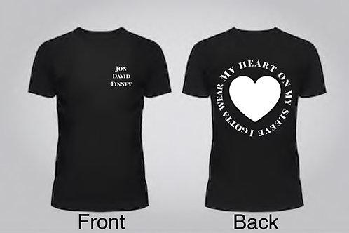 Heart on my Sleeve - T-Shirt