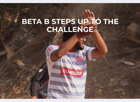BETA B steps up for the Challenge