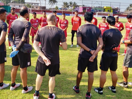 INDIA U23 NATIONAL TEAM CAMP KICKS-OFF IN GOA