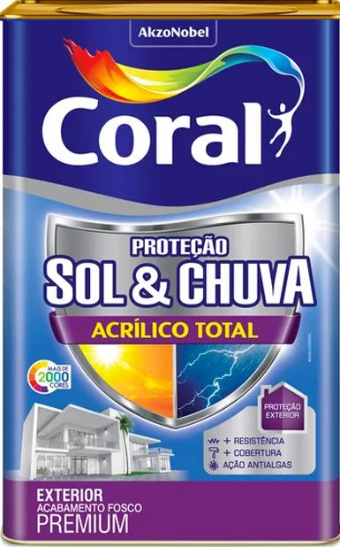 Coral - Proteção Sol e Chuva