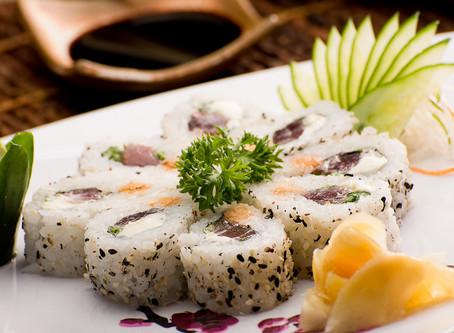 Você sabe diferenciar os tipos de sushi?
