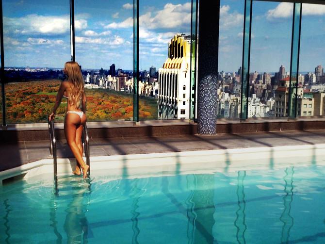 Manhattan, an unbridled steel Mondrian