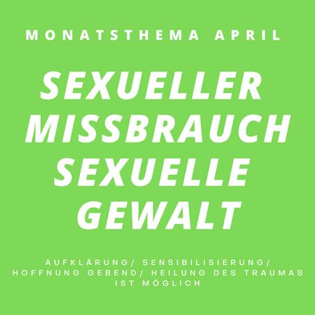Sexueller Missbrauch/ Sexuelle Gewalt Teil 2