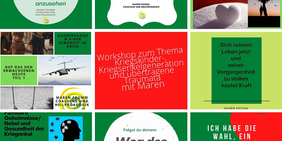 Businesswochen Böblingen - Vortrag und Austausch zum Thema Kriegskinder-/ Kriegsenkelgeneration und übertragene Traumata