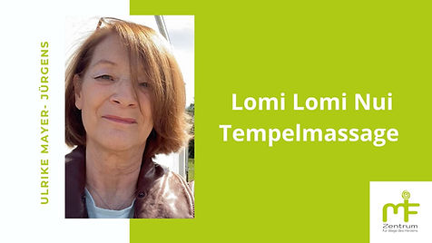 Ulrike Mayer Jürgens  Lomi Lomi Massage