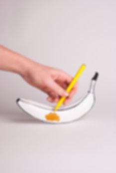 Crissy Fila - Tekening van een banaan