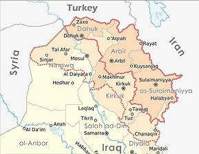Koerdistan in Noord - Irak