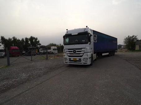 Het 50e transport in Irak!