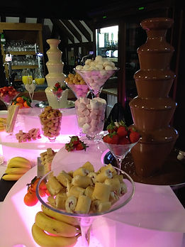 Chocolate fountains East Sussex