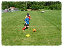 Small Group Soccer Training in RI.